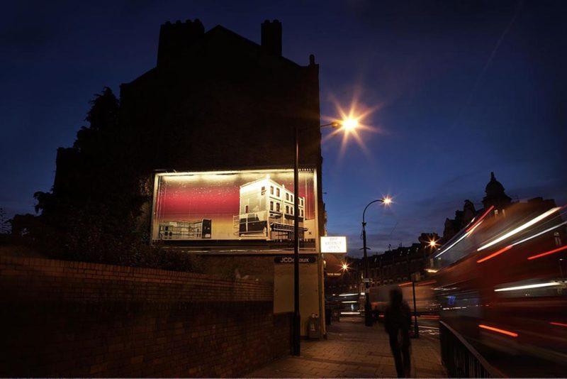Good Life, billboard commission for Deptford X, 2009, photo: Jillian Lochner