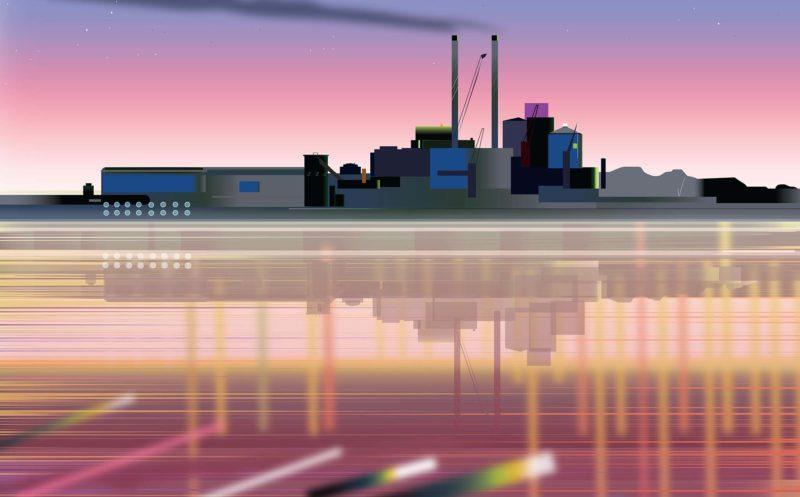 Phil Ashcroft, Refinery (Tate & Lyle), 2017