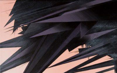 Phil Ashcroft, Solar System Parameters, detail, acrylic on canvas, 30 x 30cm, 2008