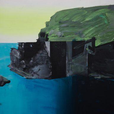 PhilAshcroft Blue Lagoon Abereiddy (portrait) aoc 121x91cm 2019 Photo Tobi Jenkins 2020