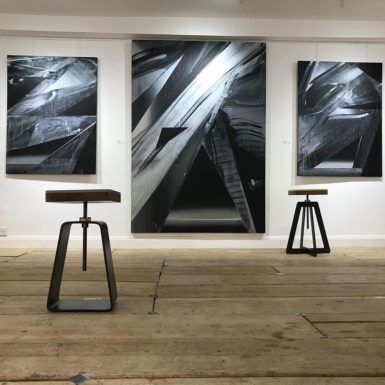 Painter Maker, two-person exhibition with SilbeySparling, Henry Saywell London, 2017