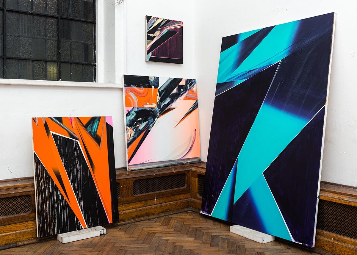 Phil Ashcroft, Studio, 2013 photo: Joe Plommer